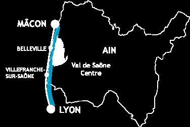 Carte du territoire de l'office de tourisme