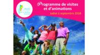 Programme de visites et animations 2018