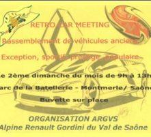 exposition mensuelle - rétro car meeting