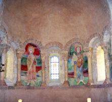 eglise d'illiat et ses fresques du xiie s.