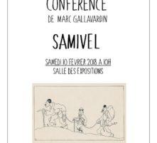 conférence : samivel
